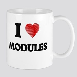 I Love Modules Mugs
