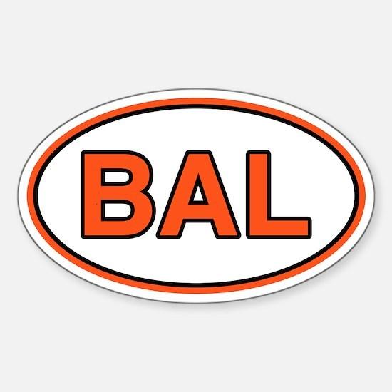 BAL Sticker (Oval)