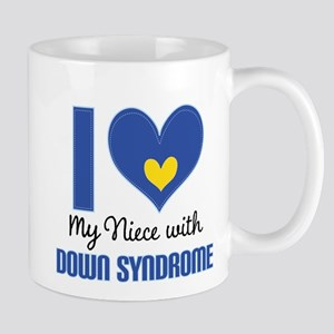 Down Syndrome Niece Mugs