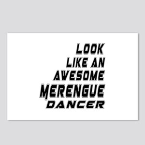 Look Like Merengue Dancer Postcards (Package of 8)