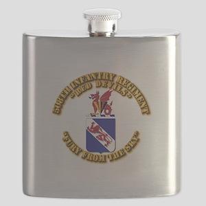 COA - 508th Infantry Regiment Flask