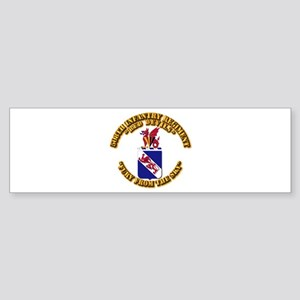 COA - 508th Infantry Regiment Sticker (Bumper)