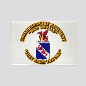 COA - 508th Infantry Regiment Rectangle Magnet