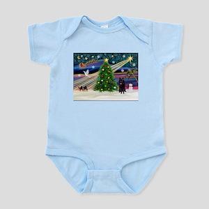 XmasMagic/Schipperke (#4) Infant Bodysuit