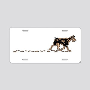 Dirty Dog Aluminum License Plate