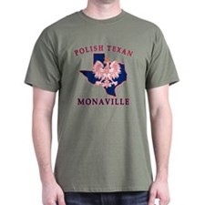 Monaville Polish Texan Dark T-Shirt