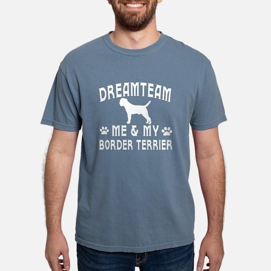 Border Terrier Dog Designs T-Shirt