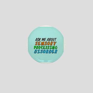 Ask Me SPD Mini Button