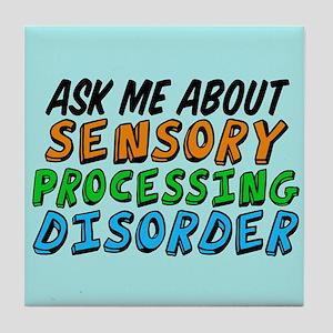 Ask Me SPD Tile Coaster