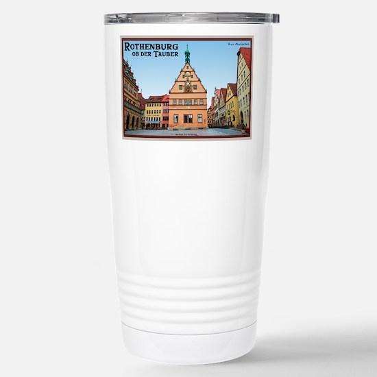 Rothenburg Marktplatz Mugs