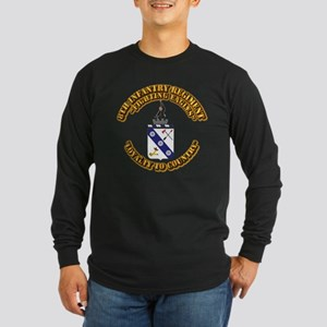 COA - 8th Infantry Regime Long Sleeve Dark T-Shirt