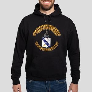 COA - 8th Infantry Regiment Hoodie (dark)