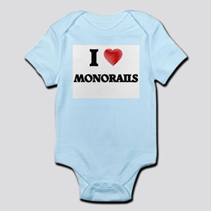 I Love Monorails Body Suit