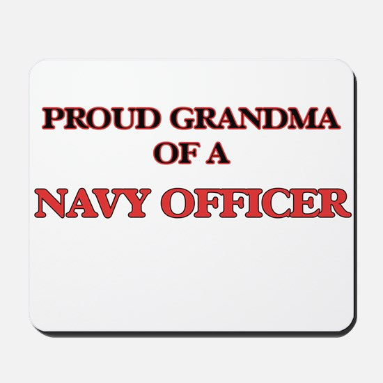 Proud Grandma of a Navy Officer Mousepad