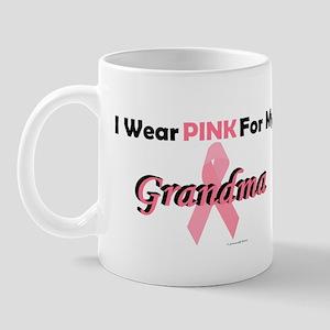 I Wear Pink For My Grandma 4 Mug