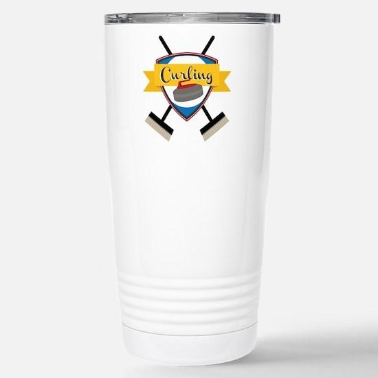 Curling Logo Mugs