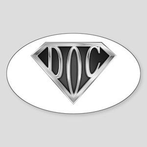 SuperDoc(metal) Oval Sticker