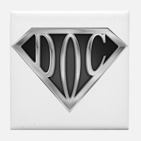 SuperDoc(metal) Tile Coaster
