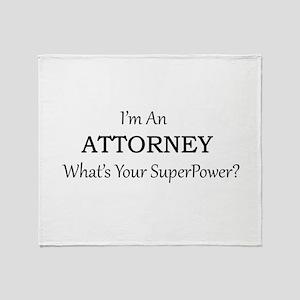 Attorney Throw Blanket