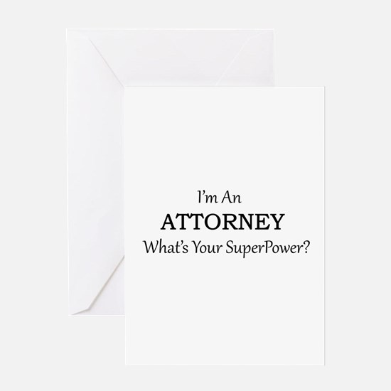 Attorney Greeting Cards