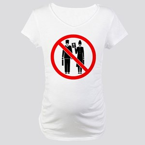 No Preaching Maternity T-Shirt