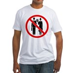 No Preaching Fitted T-Shirt