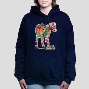 Christmas Draft Horse Belgian Sweatshirt