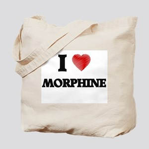 I Love Morphine Tote Bag