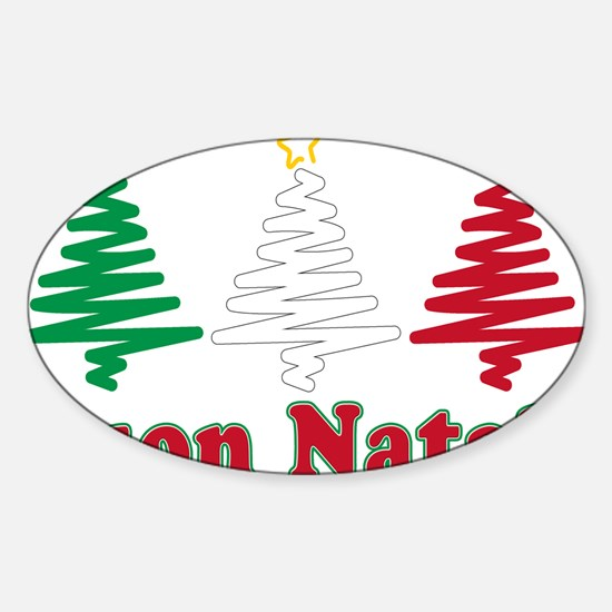 Buon natale Rectangle Decal