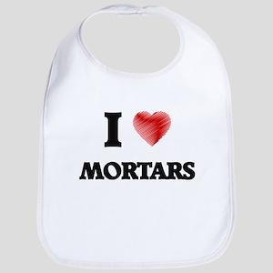 I Love Mortars Bib