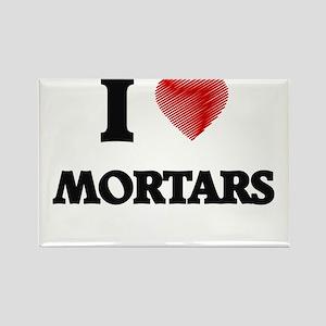 I Love Mortars Magnets