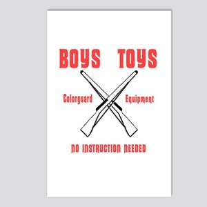 BOYS TOYS Postcards (Package of 8)