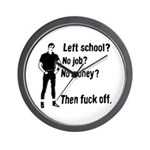 Fuck Off Wall Clock