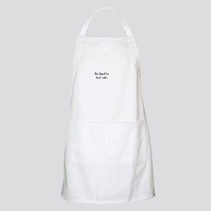 Be kind to lost cats BBQ Apron