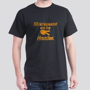 Nicaraguan Homies Dark T-Shirt