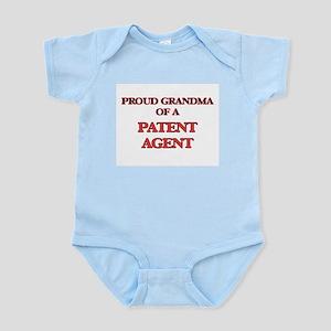 Proud Grandma of a Patent Agent Body Suit