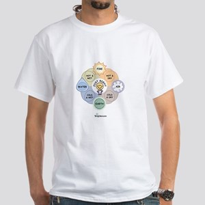 The Four Elements White T-Shirt