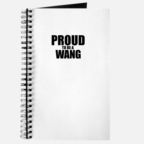 Proud to be WANG Journal