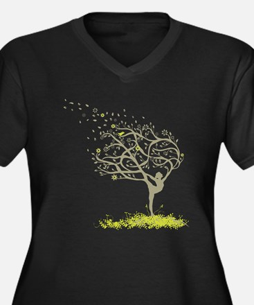tree Plus Size T-Shirt