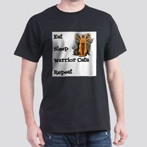 Eat, Sleep, Warrior Cats, Repeat T-Shirt