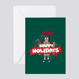 Bob's Burgers Tina Holiday Greeting Card