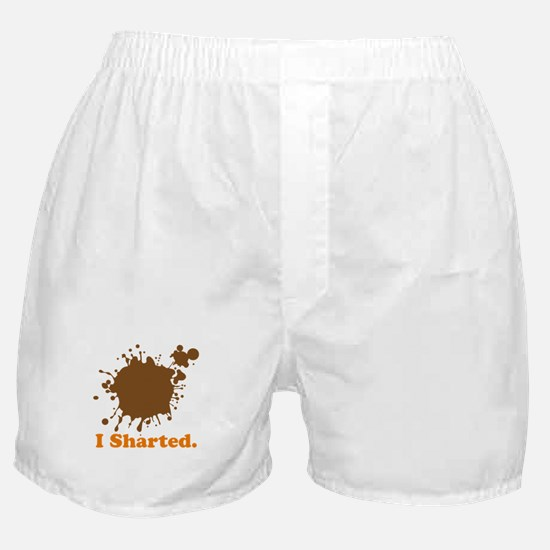 I Sharted (Poop Stain) Boxer Shorts