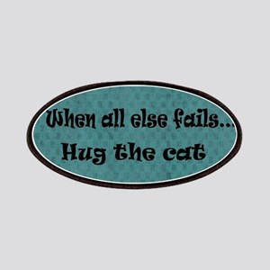 When all else fails...Hug the Cat Patch