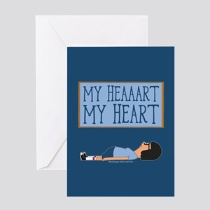 Bob's Burgers Tina Heart Greeting Card