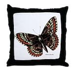 Baltimore Butterfly Throw Pillow