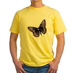 Baltimore Butterfly Yellow T-Shirt