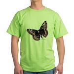 Baltimore Butterfly Green T-Shirt