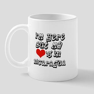 Heart in Nicaragua Mug