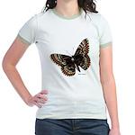 Baltimore Butterfly (Front) Jr. Ringer T-shirt