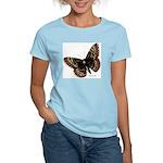 Baltimore Butterfly (Front) Women's Pink T-Shirt